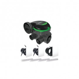 Kit VMC EasyHOME PureAIR CLASSIC Aldes + bouches ColorLINE