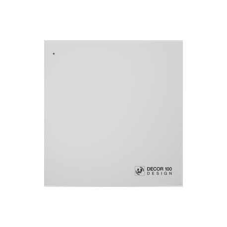Extracteur d'air DECOR-100 C DESIGN extra plat Unelvent
