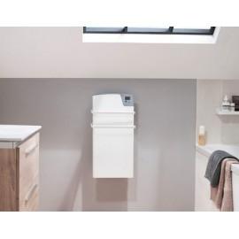 Sèche-serviettes Kéa rayonnant blanc