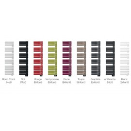 Sèche-serviettes NEFERTITI Intégral étroit couleurs ventilo Atlantic
