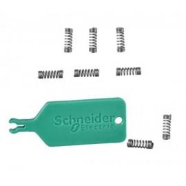 Sachet de 10 ressorts et outil de pose - Schneider - S250299