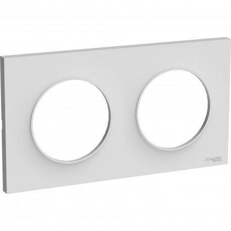 Plaque Styl double - Odace - Schneider - S520704
