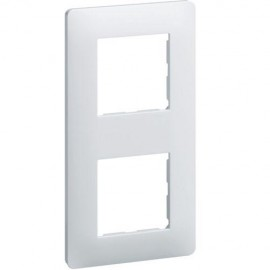 Plaque double - Essensya - Hager - WE402