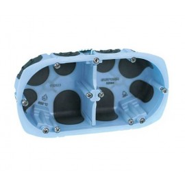 Boîte d'encastrement étanche double prof.40mm - XL AIR'métic - Eurohm