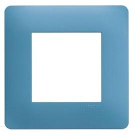 Plaque simple bleu - Essensya - Hager - WE441