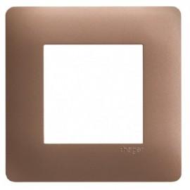 Plaque simple bronze - Essensya - Hager - WE461