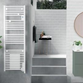Sèche-serviettes Doris Digital ventilo blanc Atlantic