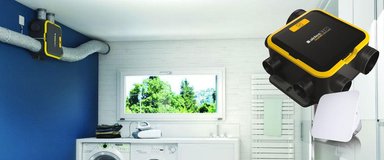 Ventilation mécanique contrôlée et climatisation de votre habitation